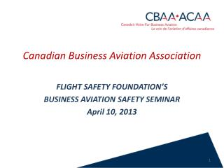 Canadian Business Aviation Association