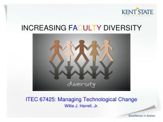 INCREASING F A C U L T Y  DIVERSITY ITEC 67425: Managing Technological Change