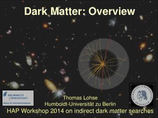 Thomas Lohse Humboldt-Universität zu Berlin HAP Workshop 2014 on indirect dark matter searches