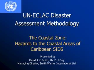 Hazards affecting the Caribbean