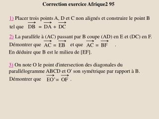 Correction exercice Afrique2 95