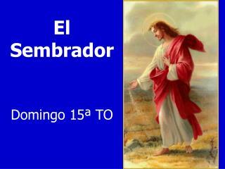 El Sembrador Domingo  15� TO