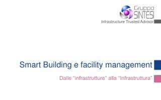 Smart Building e facility management