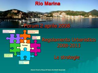 Rio Marina Forum 2 aprile 2008