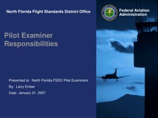 North Florida Flight Standards District Office