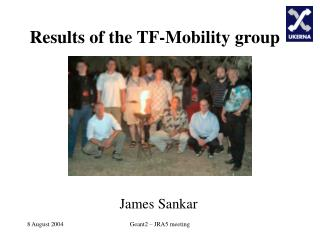 Results of the TF-Mobility group