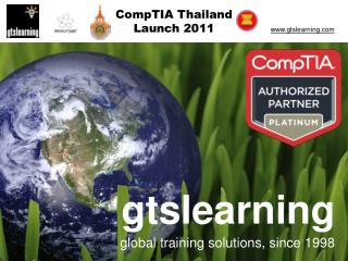 gtslearning global training solutions, since 1998