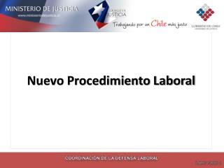 Nuevo Procedimiento Laboral