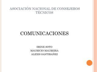 ASOCIACIÓN NACIONAL DE CONSEJEROS TÉCNICOS