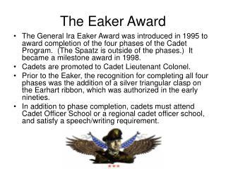 The Eaker Award
