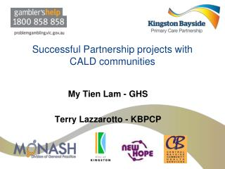 Successful Partnership projects with CALD communities