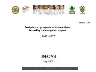 2000 - 2007