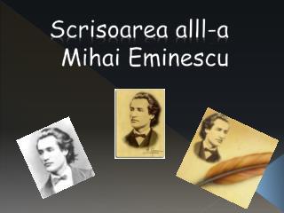 Scrisoarea  alll-a           Mihai Eminescu