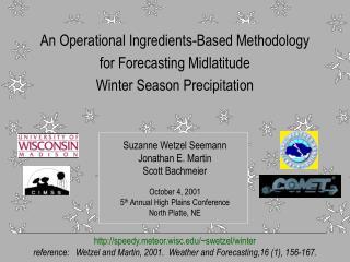 An Operational Ingredients-Based Methodology  for Forecasting Midlatitude