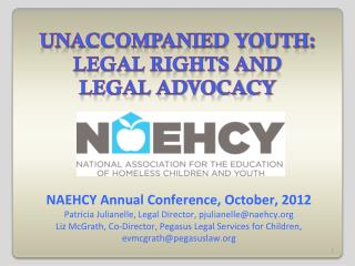 Unaccompanied youth: legal rights and legal advocacy