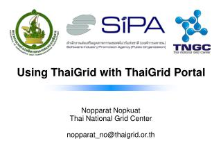 Using ThaiGrid with ThaiGrid Portal