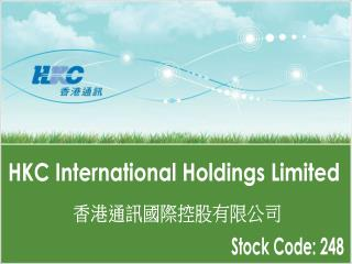 HKC International Holdings Limited