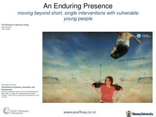 An Enduring Presence moving beyond short, single interventions with vulnerable young people