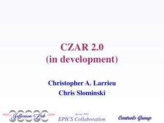CZAR 2.0  (in development)