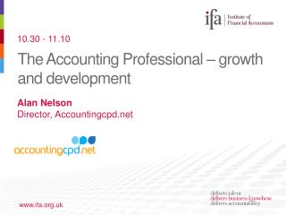 The Accounting Professional � growth and development