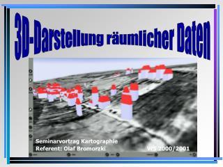 3D-Darstellung räumlicher Daten