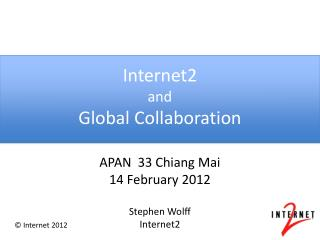 Internet2 and Global Collaboration