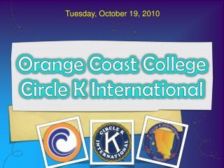 Orange Coast College Circle K International