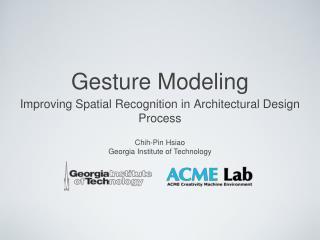 Gesture Modeling