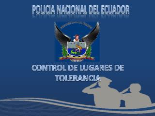 CONTROL DE LUGARES DE  TOLERANCIA