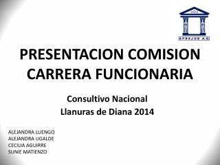 PRESENTACION COMISION CARRERA FUNCIONARIA