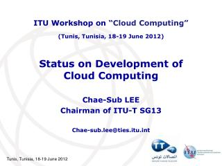 Status on Development of  Cloud Computing