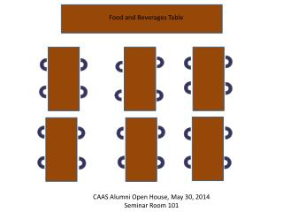 CAAS Alumni Open House, May 30, 2014 Seminar Room 101