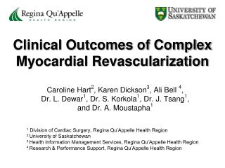 Clinical Outcomes of Complex Myocardial Revascularization