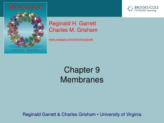 Chapter 9 Membranes