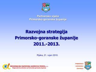 Partnersko vijeće  Primorsko-goranske županije