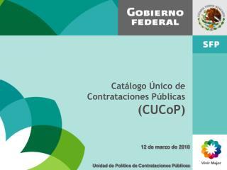 Unidad de Política de Contrataciones Públicas
