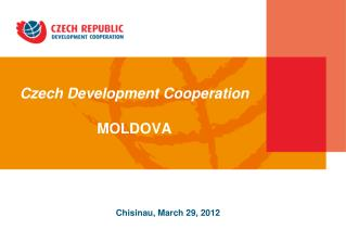 Czech Development Cooperation MOLDOVA