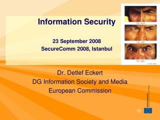 Dr. Detlef Eckert DG Information Society and Media European Commission