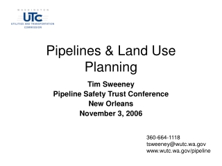 Pipeline Safety Trust  Conference