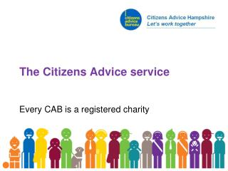 The Citizens Advice service
