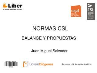 NORMAS CSL