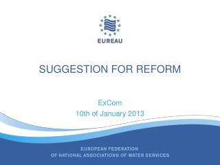 Suggestion  for  Reform