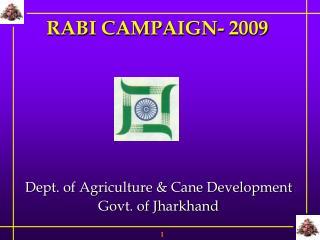 RABI CAMPAIGN- 2009
