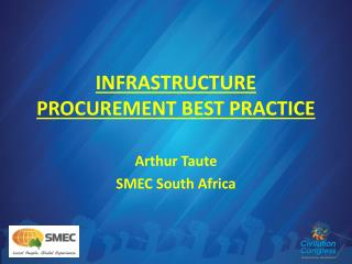 INFRASTRUCTURE PROCUREMENT BEST PRACTICE