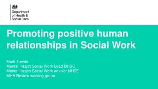 RIGHTS vs RISKS  The challenge of social work in restrictive settings