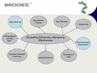 Generating Efficiencies: Maintaining  Effectiveness