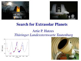 Search for Extrasolar Planets