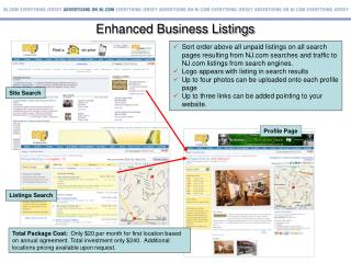 Enhanced Business Listings