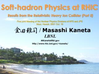 Soft-hadron Physics at RHIC Results from the Relativistic Heavy Ion Collider (Part II)