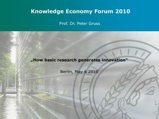 Knowledge Economy Forum 2010